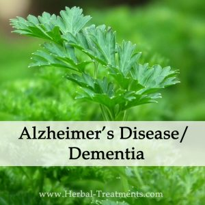 Herbal Medicine for Alzheimer's Disease/ Dementia