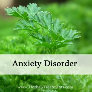 Herbal Medicine for Anxiety Disorder