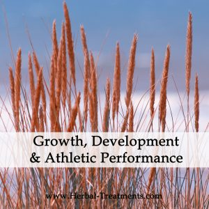 Athletic Performance, Growth and Development Support Herbal Tonics
