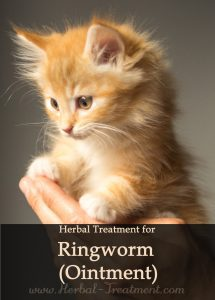 Herbal Treatment for Ringworm - Ointment for Cats