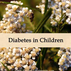 Herbal Medicine for Diabetes in Children