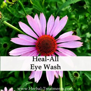 Herbal Eye Wash for Eye Infection, Irritation, Conjunctivitis
