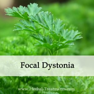 Herbal Medicine for Focal Dystonia