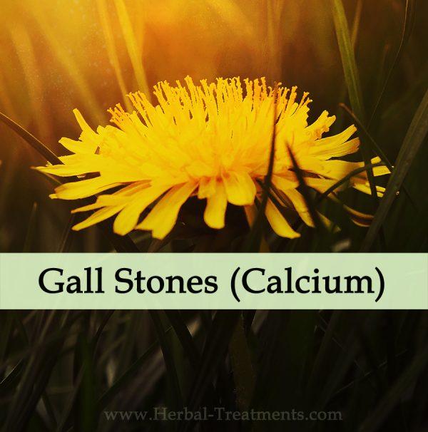 Herbal Medicine for Gall Stones (Calcium)