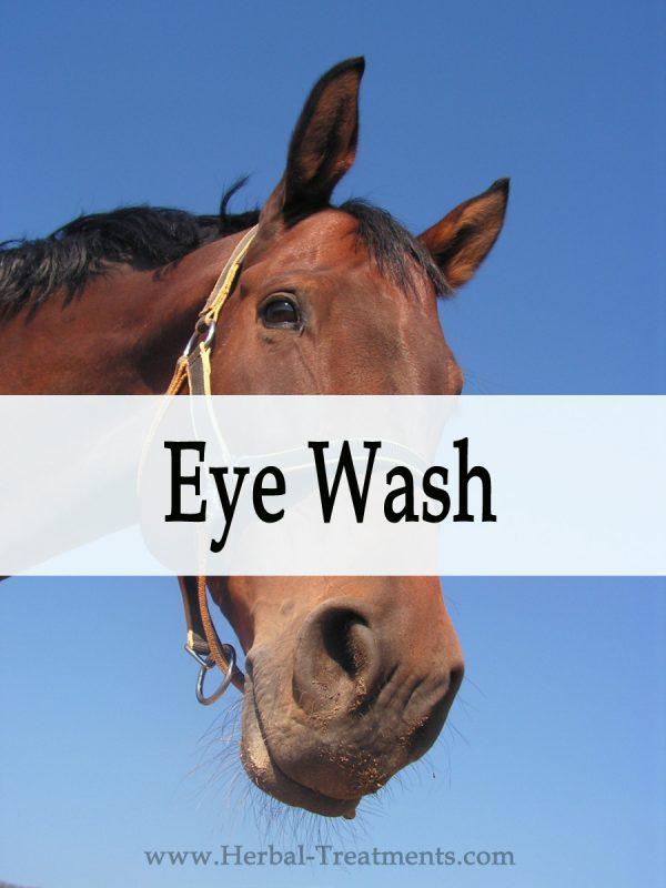 Herbal Eye Wash for Horses