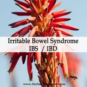 Herbal Medicine for Irritable Bowel Syndrome IBS/IBD