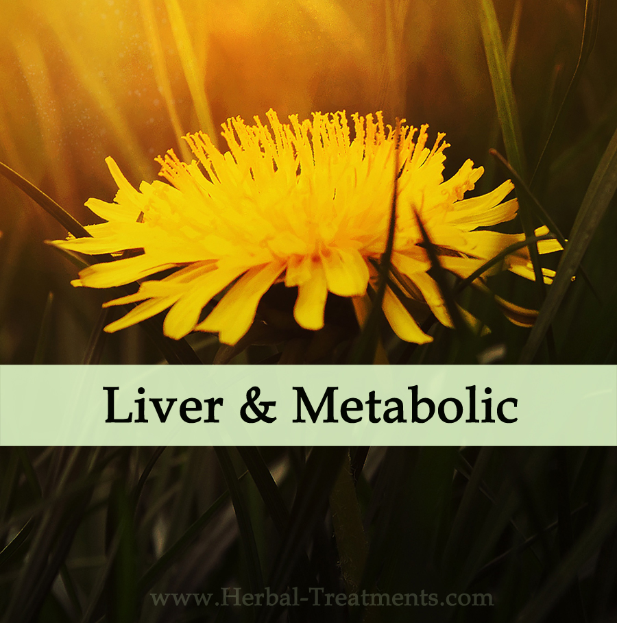 Herbal Treatments for Liver and Metabolic Conditions