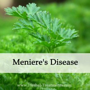 Herbal Medicine for Meniere's Disease