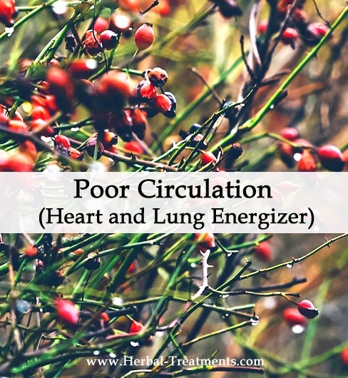 Herbal Medicine for Poor Circulation (Heart and Lung Energizer)