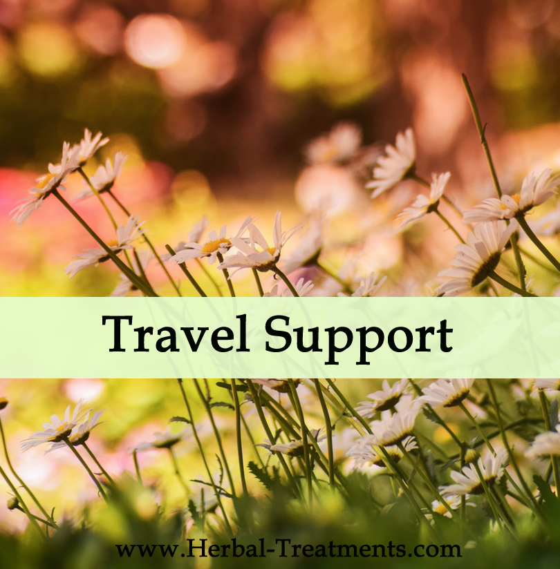 Herbal Treatments for Travel Support